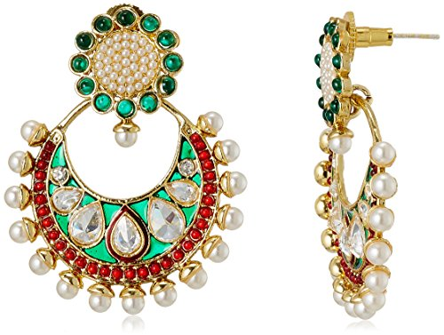 Sia Sia Art Jewllery Drop Earrings For Women (Multi-Color) (AZ1334) (Multicolor)