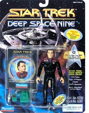 Star Trek Deep Space Nine Q in DS9 Uniform
