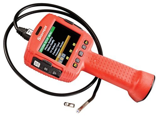 Starrett-699-55-Stainless-Steel-Inspection-Video-Borescope-4-AA-batteries-5V-DC-and-12V-DC-Power