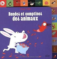 Rondes et comptines des animaux CD - NE