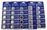 (25) CR1632 Button Cell Lithium Watch Batteries Battery