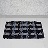 Story @ Home Grey Cotton Diana 1 Piece Doormat/Bathmat