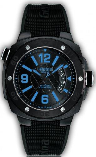 Alpina Adventure Avalanche Extreme Diver 1000M Men's Black Rubber Strap Automatic Watch AL-525LBCD5FBAEV6