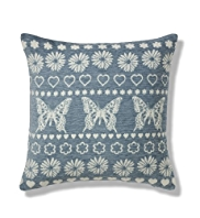 Chenille Butterfly Cushion