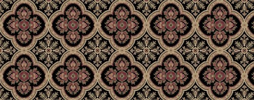 Kane Carpet - Dynasty Collection - Black Ming - 12'x14'