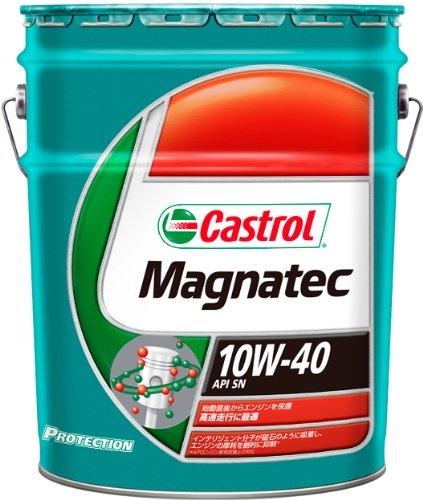 CASTROL ( カストロール ) ガソリン車用エンジンオイル Magnatec [ マグナテック ] 10W-40 [ SN ] 部分合成油 [ 20L ]