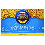 Kraft Easy Mac Dinner, Original, 12.9-Ounce Boxes (Pack of 8) ~ Kraft