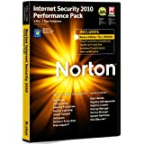 Norton Internet Security 2010 Performance Pack, 1 User, 3 Computers (PC CD)by Norton from Symantec