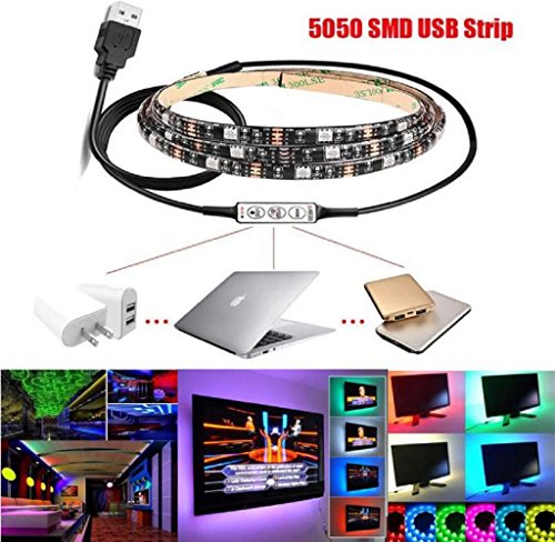 hipzop-1m-multicolor-rgb-led-strip-light-usb-cable-led-tv-background-lighting-kit