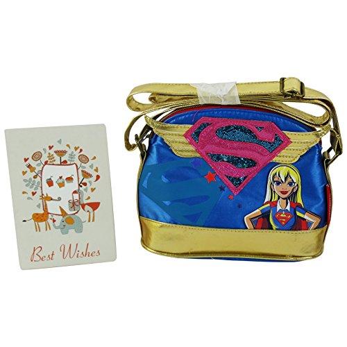 DC Comics Superhero Girls Supergirl Borsa da Donna Borsa a Tracolla a Spalla