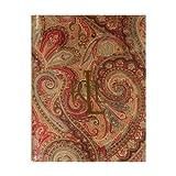 Ralph Lauren Fenton Paisley Rust Rectangular Tablecloth, 60 x 84 Inches