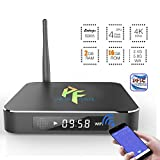 Pigflytech Smart Box T95 Streaming Media Player (2016 Model) with Quad Core [2GB/16B/4K/S905] and Kodi 16.0