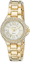 XOXO Women's XO5770 Analog Display Analog Quartz Gold Watch