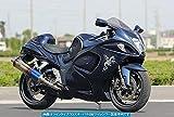 アールズギア(r's gear) フルエキゾーストマフラー ワイバン シングル チタンクロスオーバルドラッグブルー GSX1300R (08-) WS07-01XD