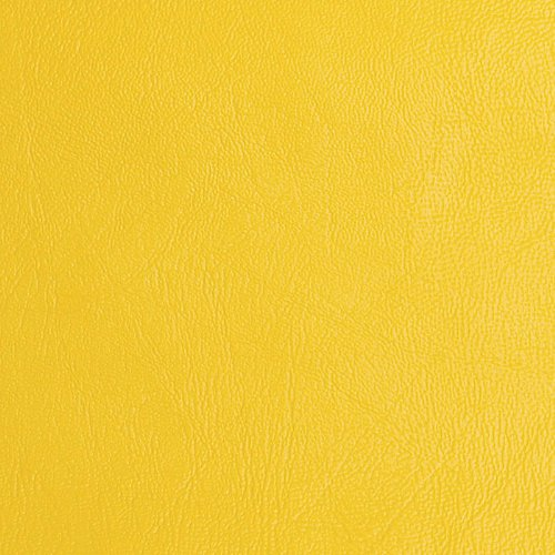 54'' Wide Vinyl Yellow Fabric By The Yard