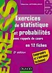 Exercices de statistique et probabili...
