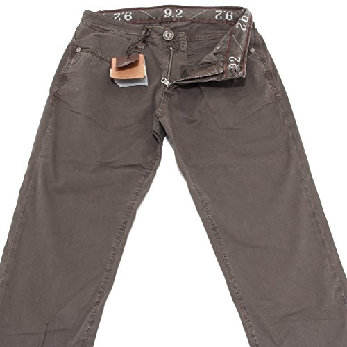 40600 pantaloni brown 9.2 jeans uomo trousers men CHIONNA CARLO [31]