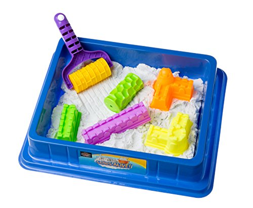 Sands Alive Deluxe Starter Set Includes 4 Sand Molds and Play Sand Tray - Exclusive USA Toyz Kit (Sands Alive Starter compare prices)