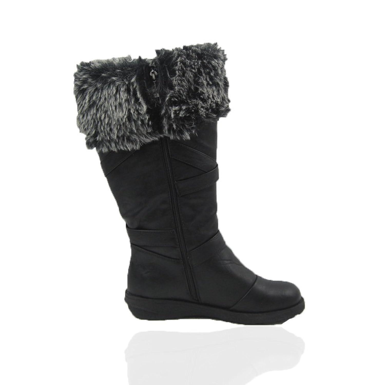 winter boots comfy moda size 6 12 wide calf