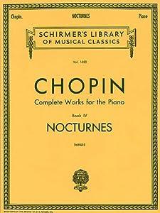 Frederic Chopin Nocturnes Pf by G. Schirmer