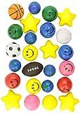 Rhode Island Novelty Assorted Squeeze Ball, 25-Piece