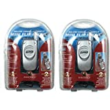 Pack of 2 Innovage Mini Corded Home Flip Phones w/ Caller ID & Headset