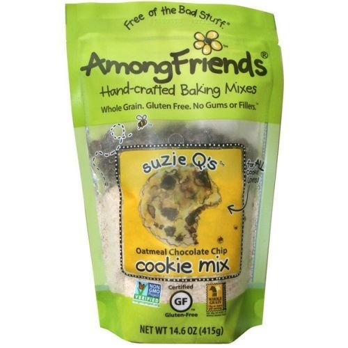 Among Friends Suzie Qs Oatmeal Chocolate Chip Cookie Mix, 14.6 Ounce -- 6 per case.