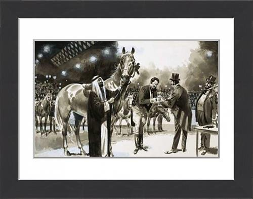 framed-print-of-brian-hughes-successfully-hoaxes-the-new-york-horse-show-in-1907