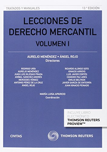 LECCIONES DE DERECHO MERCANTIL VOLUMEN I