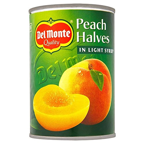 Del Monte Peach Halves In Light Syrup (420G)