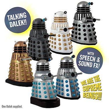 Un dalek de 12cm en vente sur amazon, Doctor Who, dalek,  geek