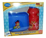 Disney Jake and the Neverland Pirates Snack Container & Drink Bottle Set - BPA FREE