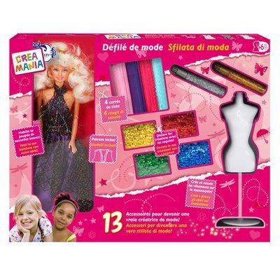 giochi preziosi rdf89617 crea mania sfilata di moda con fashion doll