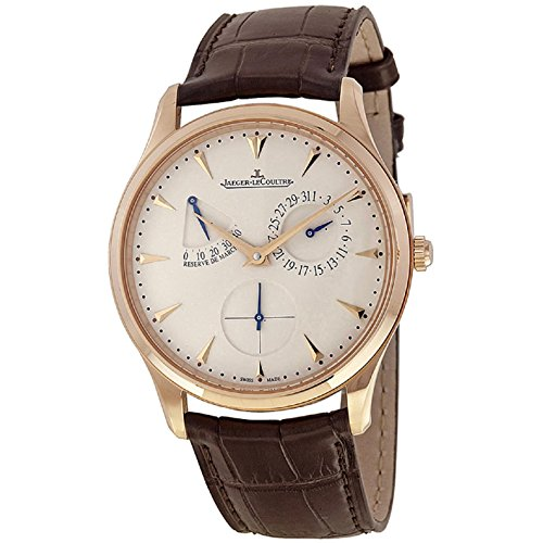 jaeger-lecoultre-mens-master-39mm-brown-leather-band-steel-case-automatic-white-dial-watch-q1372520