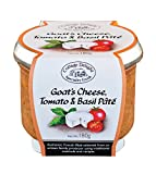 Cottage Delight Goat's Cheese, Tomato and Basil Pâté 180 g (Pack of 2)