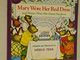 MARY WORE A RED DRESS (0899193242) by Peek, Merle