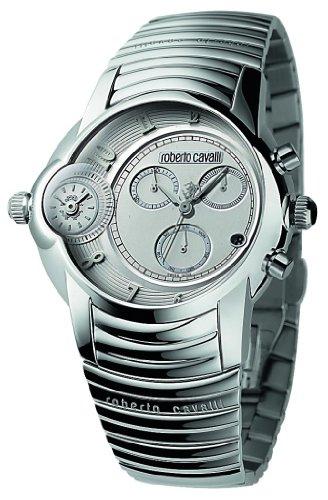 Roberto Cavalli 'Character' R7273649015 - Reloj de caballero de cuarzo, correa de acero inoxidable color varios colores