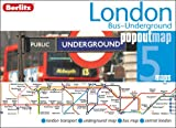 London Bus and Underground Berlitz PopOut Map (Berlitz PopOut Maps)