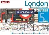 London Bus and Underground Berlitz PopOut Map (Berlitz PopOut Maps)