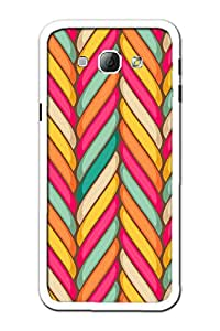 KanvasCases 2D Printed Back Cover For Samsung Galaxy A8 + Free Earphone Cable...
