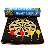 TG DOUBLE SIDE MAGNET DART BOARD GAME SIZE 17 INCHES WITH 6 FREE DARTS