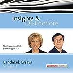 Insights & Distinctions: Landmark Essays, Volume 1 | Nancy Zapolski,Joe DiMaggio