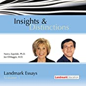 Insights & Distinctions: Landmark Essays, Volume 1 | [Nancy Zapolski, Joe DiMaggio]