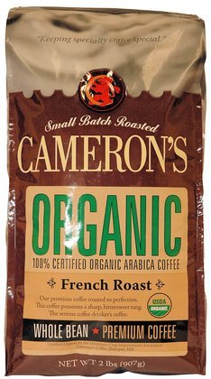 Cameron S Organic Whole Bean Coffee French Roast