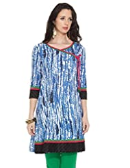 DIYA Ladies Cotton Printed Kurti - B00NNPWWEQ