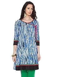 DIYA Ladies Cotton Printed Kurti - B00NNPWWEQ