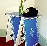 A La Carte Card Table - Blue