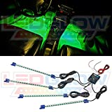 4pc. Green LED Interior Underdash Lighting Kit thumbnail