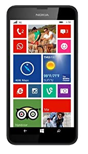 Nokia Lumia 630 4.5 inch Sim Free Windows Smartphone - Black