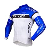 Sobike NENK Cycling Long Jersey long Sleeves-Cooree 2 Colours (Blue, L)
